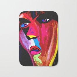 Colorful Pop-Art Face Bath Mat