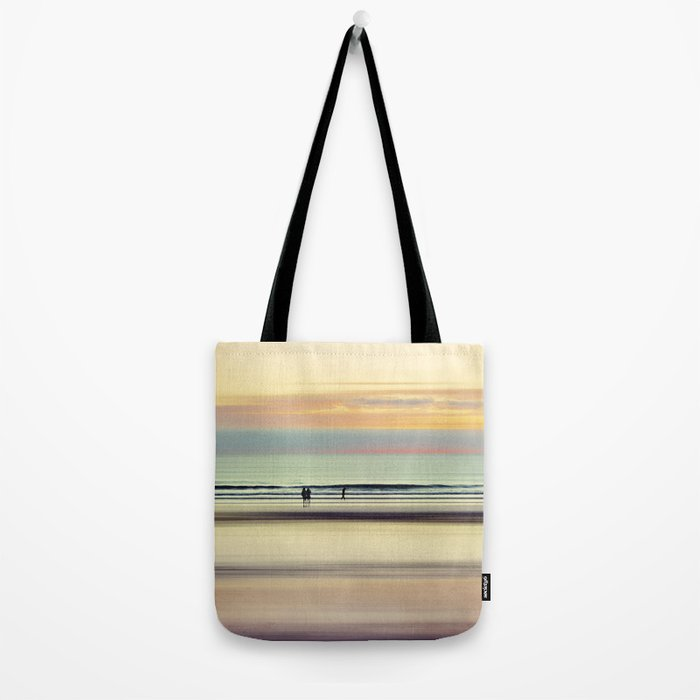 an evening at the beach Tote Bag