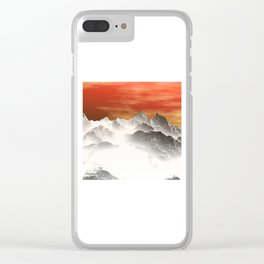 Winter Dream 04 Clear iPhone Case
