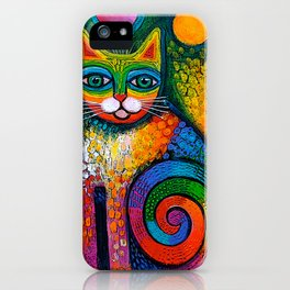 Juggle Puss iPhone Case
