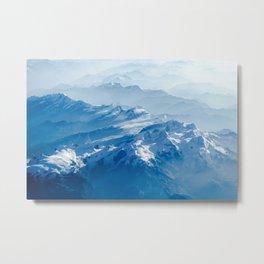 Swiss Alps #society6 #decor #buyart Metal Print