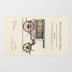 Ambulance Patent 1889 Rug