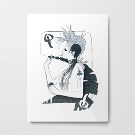 Im not Your F*$#N Queen Metal Print