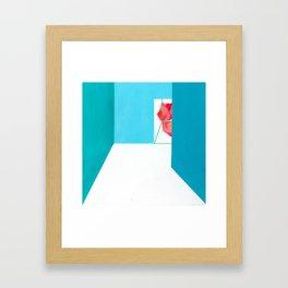 Aisle Framed Art Print