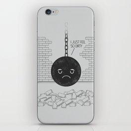 I'm So Wrecked. iPhone Skin