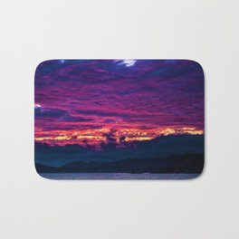 Mount Desert Island, Arcadia Maine Sunset Bath Mat