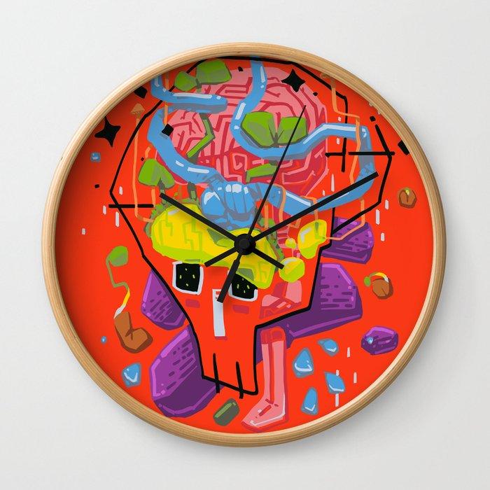 Thoughtfulness Wall Clock