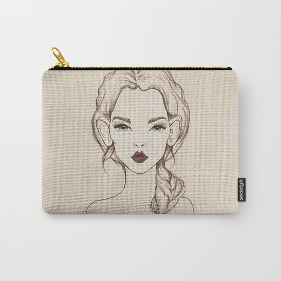 Marsala Carry-All Pouch