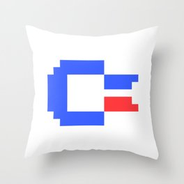 Pixel C64 Throw Pillow