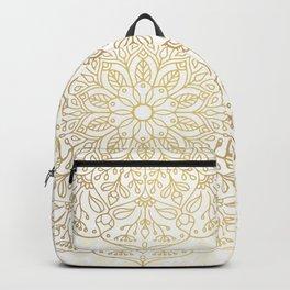 Gold Mandala Backpack