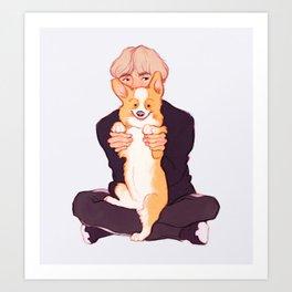 Tae + Chopa Art Print