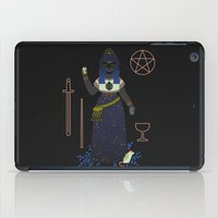 tarot iPad Cases featuring Witch Series: Tarot Cards by LordofMasks