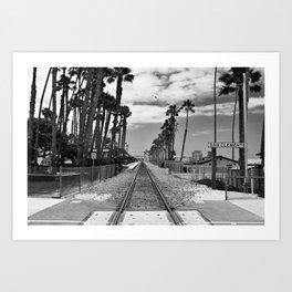 San Clemente, CA Art Print