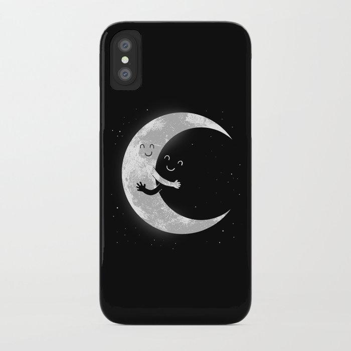 Moon Hug iPhone Case