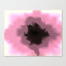 Unfurled Pink Canvas Print