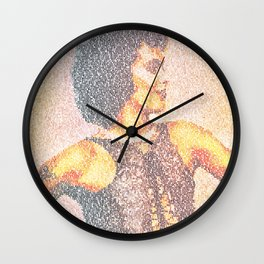 Sweet Transcript Wall Clock