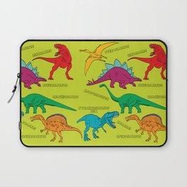 Dinosaur Print - Colors Laptop Sleeve