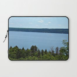 Perfect Day on Lake Superior Laptop Sleeve