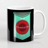 transistor Mugs featuring Transistor by Spiritius