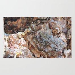 TEXTURES: Weeping Big Cone Pine Bark Rug