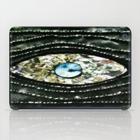 evil eye iPad Cases featuring Evil Eye by Lilly Guastella