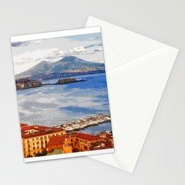 Italy. The Bay of Napoli Stationery Cards