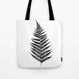 Fern silhouette Tote Bag