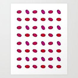 Cough Drops Art Print