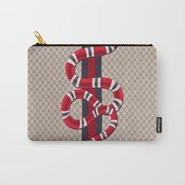 Guci Snake Carry-All Pouch