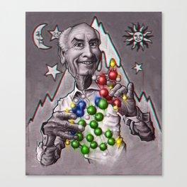Dr Albert Hoffman Canvas Print