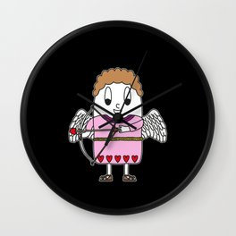 Cupid Egg Wall Clock