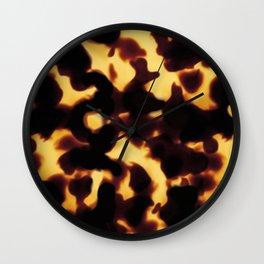 Tortoiseshell Wall Clock
