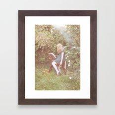 little rocking horse Framed Art Print