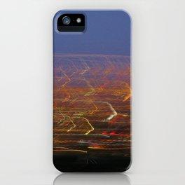 Runyon Lights iPhone Case
