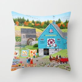 Bountiful Harvest Throw Pillow