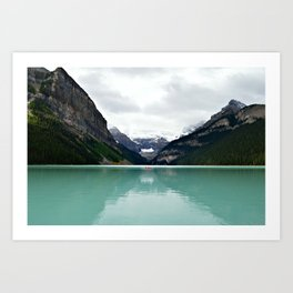 Lake Louise #mountains Art Print