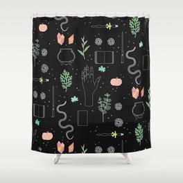 Witch Starter Kit: Potion - Illustration Shower Curtain