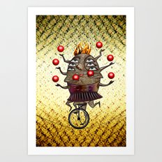 Equilibrist Art Print