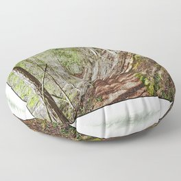 FOREST OF PARALLEL SHADOWS Floor Pillow
