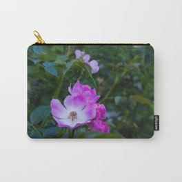Summer pink wild flowers Carry-All Pouch