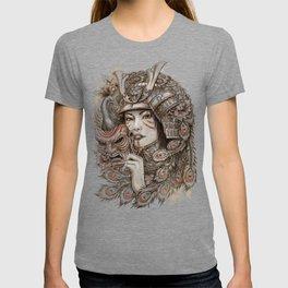 Peacock Samurai T-shirt