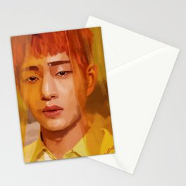 Onew Yellow Stationery Cards