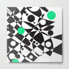 A Touch of Verde Metal Print