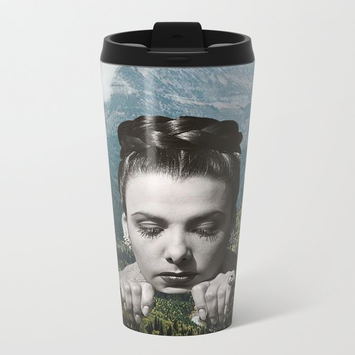 Valley Girl Metal Travel Mug