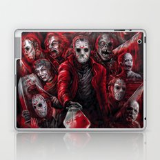 Jason Voorhees Friday the 13th Many faces of Laptop & iPad Skin