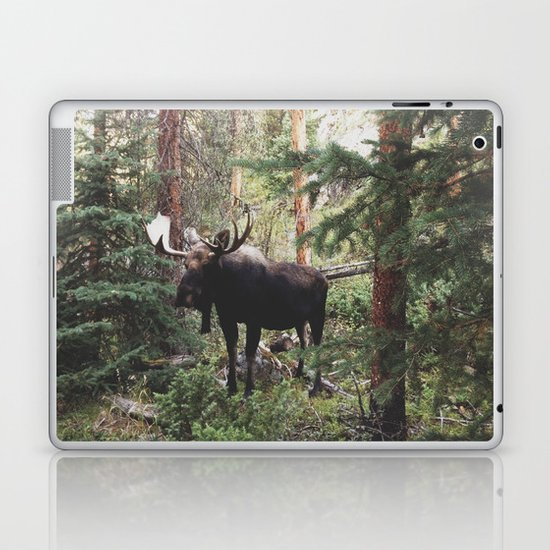 The Modest Moose Laptop & iPad Skin
