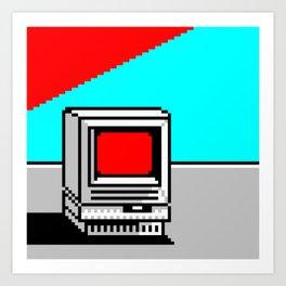 Computer I Art Print
