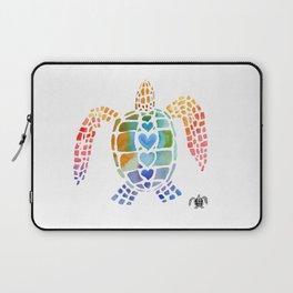 Hug a Sea Turtle Laptop Sleeve