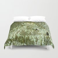 all seeing eye Duvet Covers featuring All Seeing Eye by Sara Valor