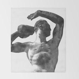 The Athlete 1 Throw Blanket